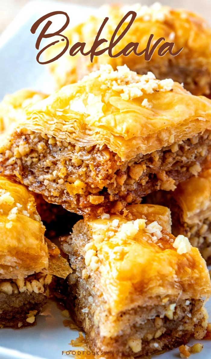 Best Baklava Recipe Food Folks And Fun