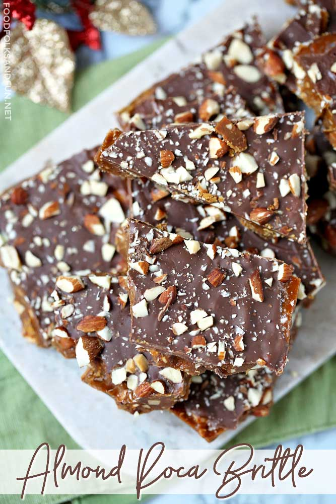 The Best Ever Almond Roca Brittle
