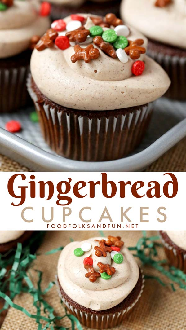 Best Gingerbread Cupcakes