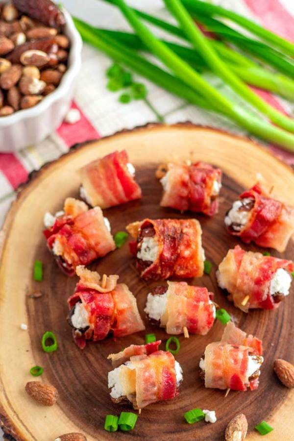Bacon Wrapped Dates recipe
