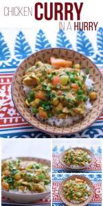 Chicken Curry in a Hurry: make your favorite chicken curry recipe in the crock pot or slow cooker!