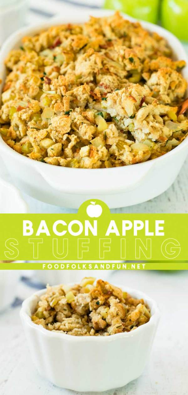 Apple Stuffing - a Thanksgiving side dish