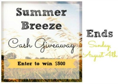 SummerBreeze Cash Giveaway