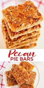 Thanksgiving Dessert: Pecan Pie Bars