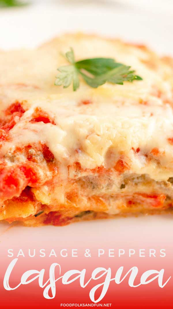 Cheesy Lasagna with Italian Lasagna