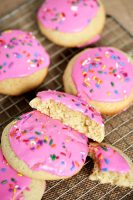 Soft Frosted Sugar Cookies - better than store bought