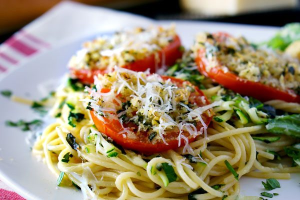 Best Bakes Tomatoes Parmesan