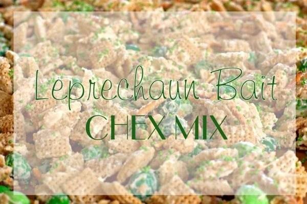 Leprechaun Bait Chex Mix