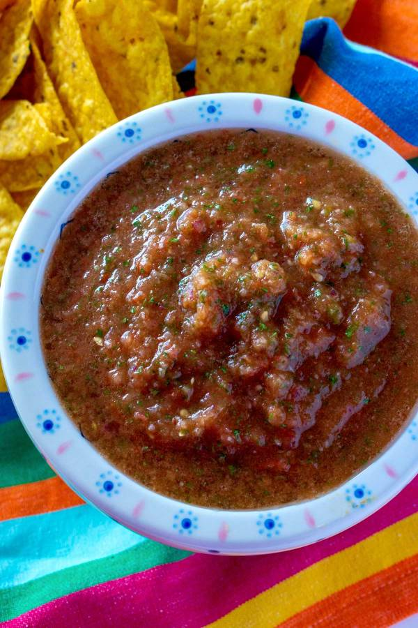 The best 2 minutes salsa recipe!