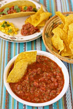 Honey-Lime Chipotle Salsa