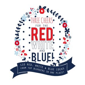 Information for a blogger roundup of patriotic recipes for Pinterest