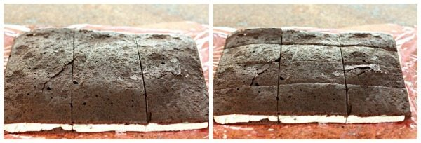 Cut into 9 sandwiches.