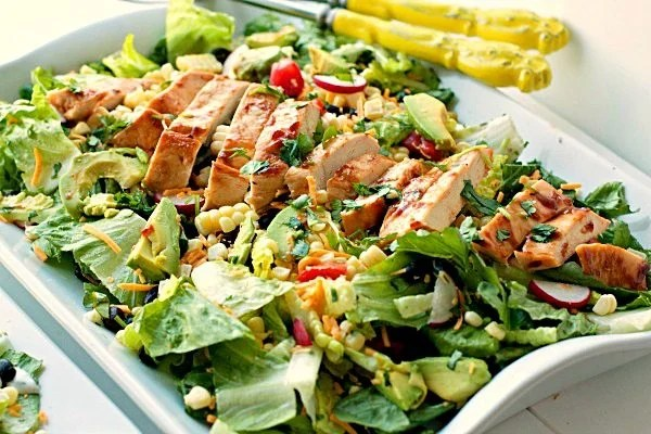 Barbecue Chicken Entree Salad