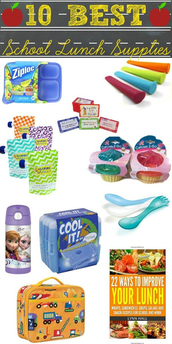 To help you start the school year off right for you and your kids, here's a list of the 10 Best School Lunch Supplies for Back-to-School. via @foodfolksandfun