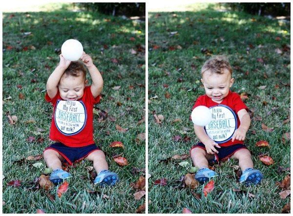 Derek Throwing Ball