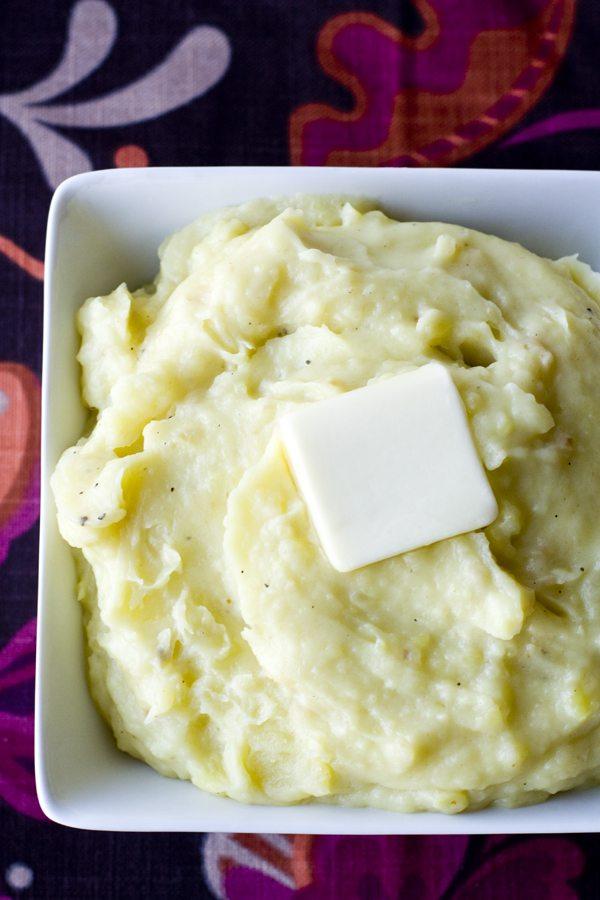 Buttermilk Mashed Potatoes 2