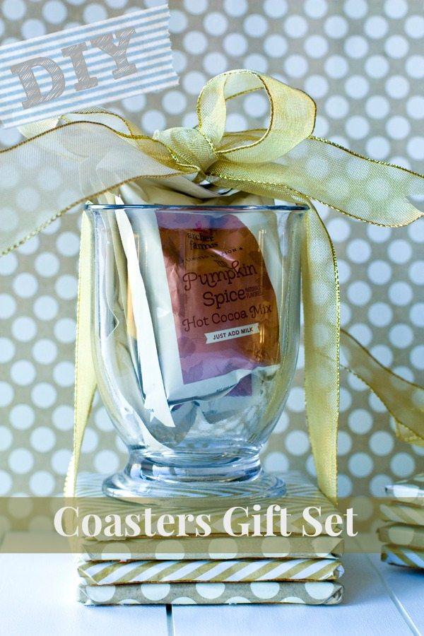 DIY Coasters Gift Set