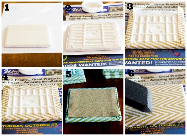 How to make your own coasters