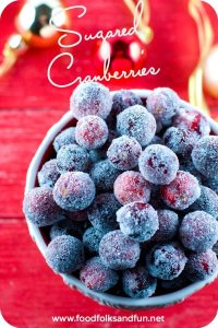 Enjoy this easy tutorial for sugared cranberries; they're the perfect holiday party snack. Add them to holiday cookies and cakes for some extra bling!