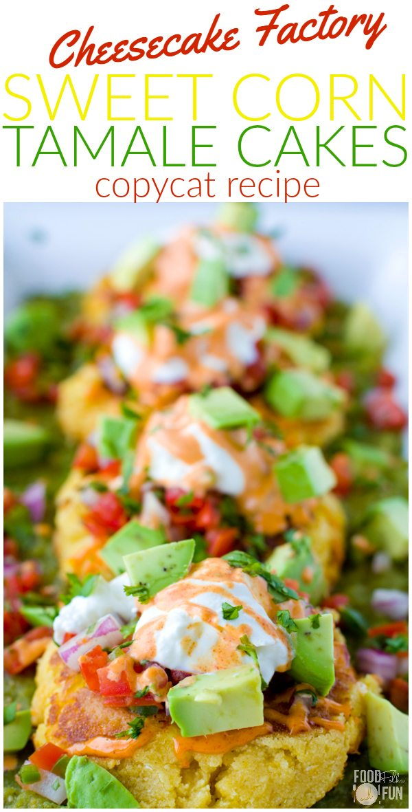Sweet Corn Tamale Cakes copycat recipe.