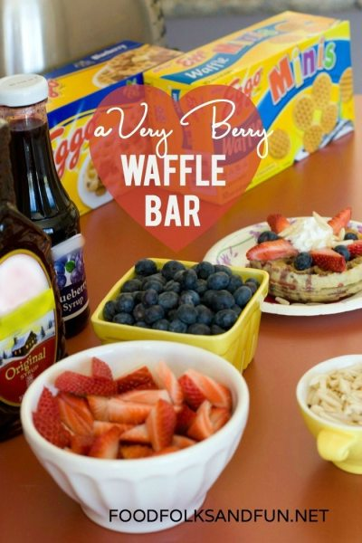A Very Berry Waffle Bar