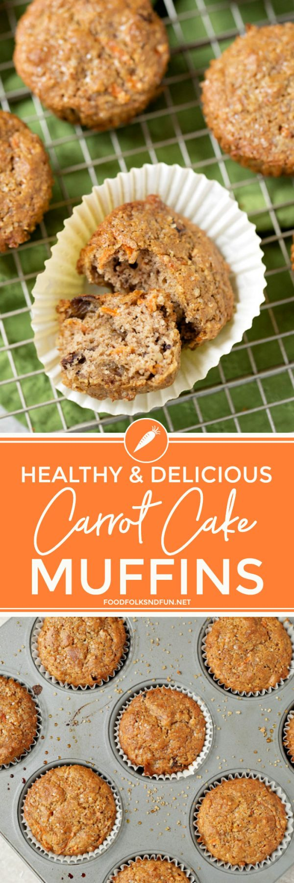 Amazing and Delicious Carrot Muffins