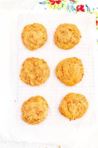 Scoop, bake, and cool the Carrot Cake Whoopie Pie shells