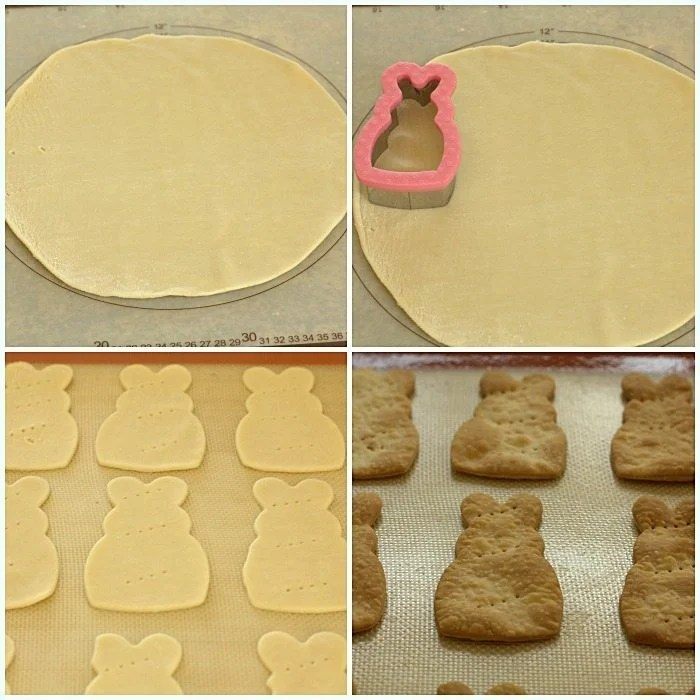 Picture collage of How to Make Pie Crust Dippers