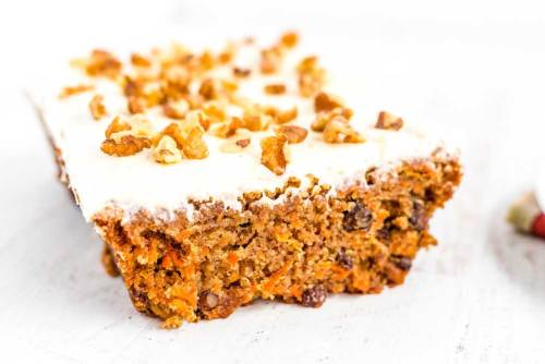 Simple Carrot Loaf Cake