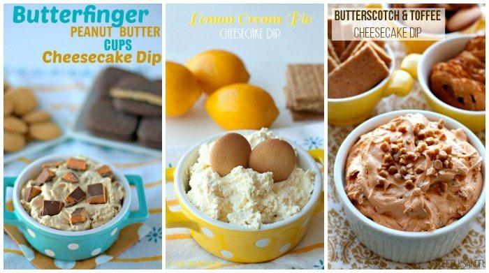 Cheesecake Dips - Food Folks and Fun