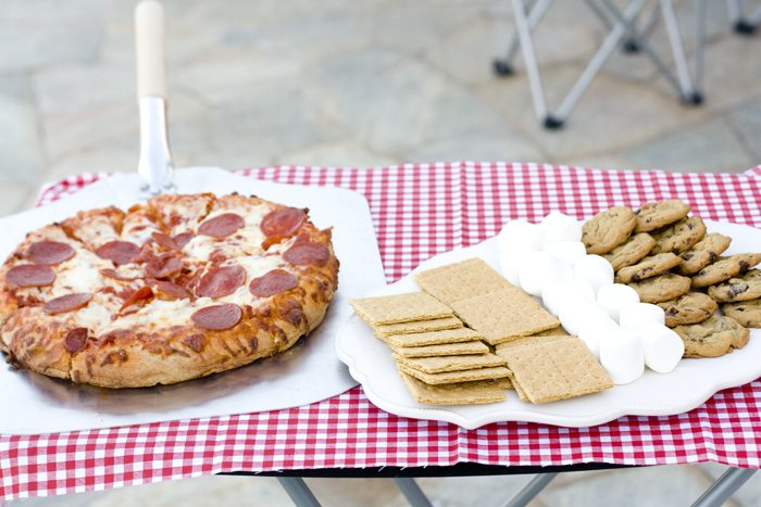 Easy Family Dinner and Smores Recipe
