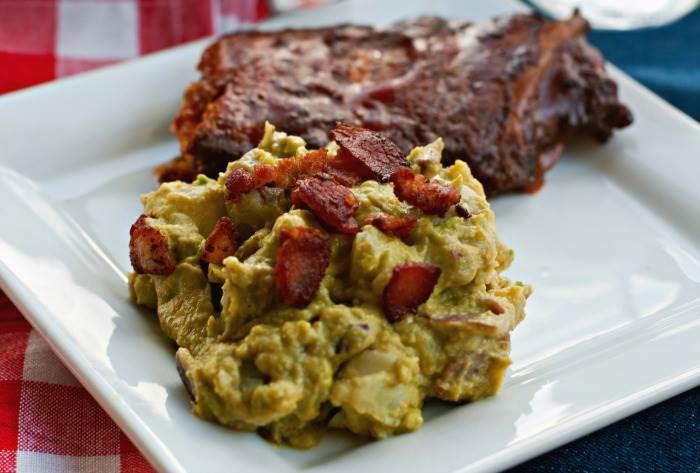 Bacon and Avocado Potato Salad