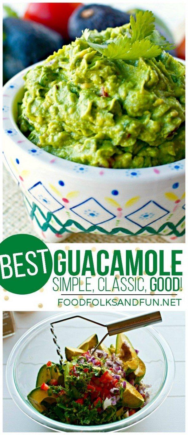 Best Guacamole Recipe - Easy