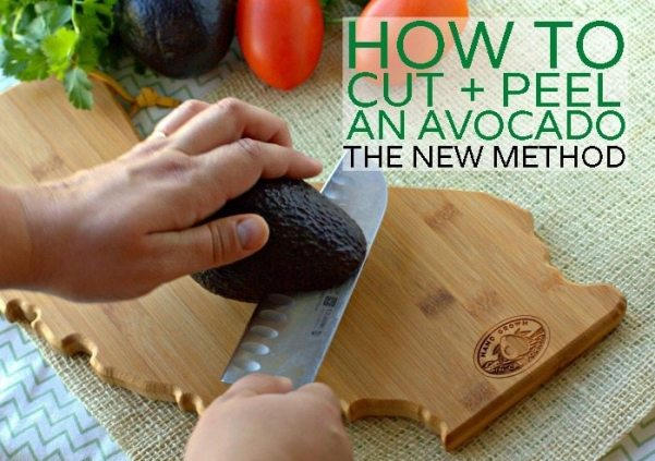 How to Cut and Peel an Avocado - H