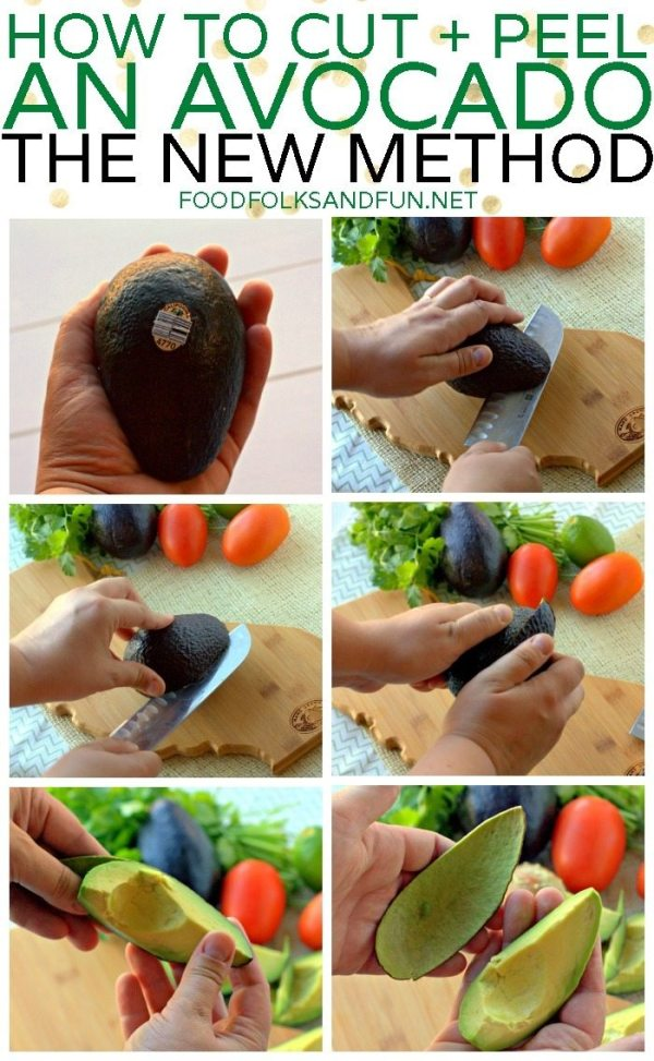 How to Cut and Peel an Avocado - V