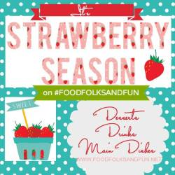 For more #StrawberrySeason recipes, click on the picture!