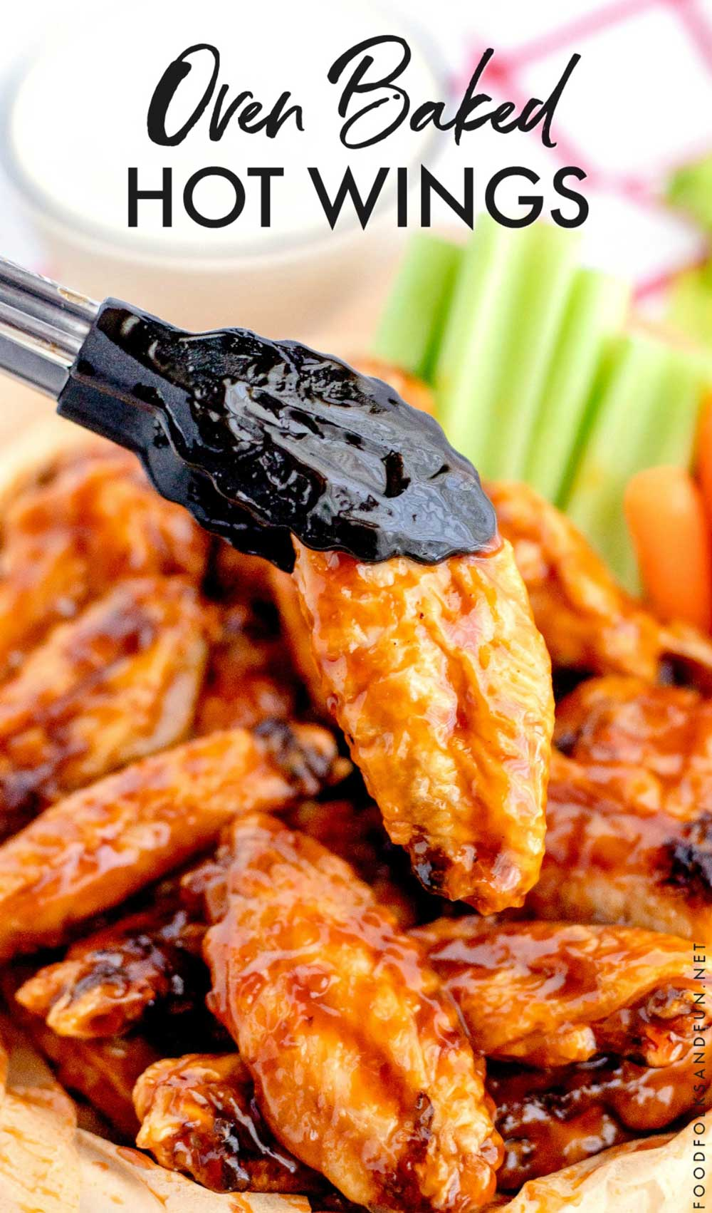 The Best Baked Hot Wings recipe