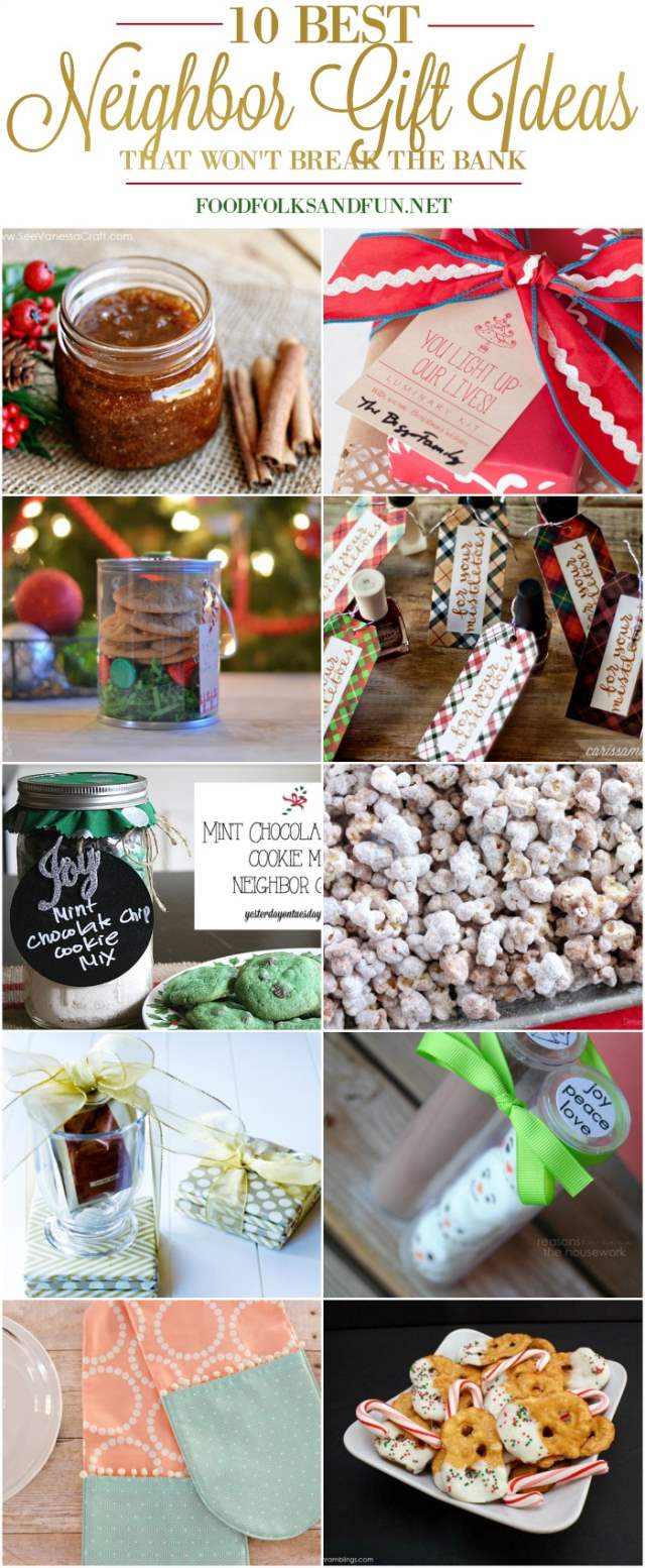 10 Best Homemade Neighbor Gift Ideas that Won't Break the Bank!