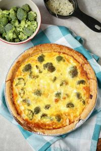 Best ever recipe for Broccoli Quiche