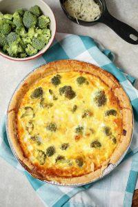 Best ever recipe for Broccoli Quiche