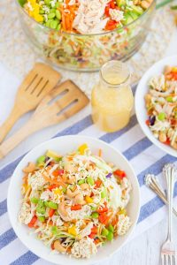 Simple Raman Noodle Salad recipe