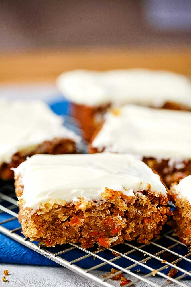 How to make carrot Cake with recipe video