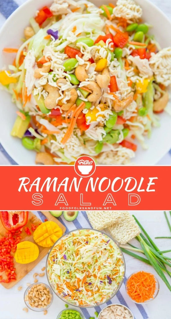 Best Raman Noodle Salad recipe!