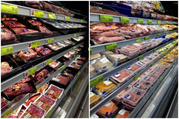 Meat at ALDI