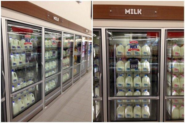 Milk Prices at ALDI