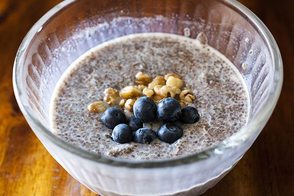 Blueberry Chia Pudding