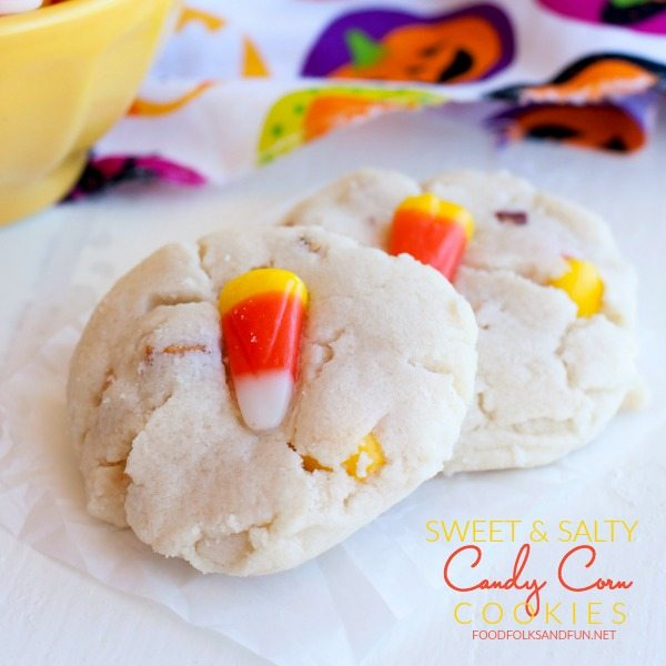 SWEET AND SALTY CANDY CORN COOKIES FB