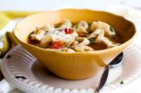 20-Minute Tortellini Soup is a great cold weather recipe for easy weeknight dinners. It's not only delicious and easy to make, it's economical, too!