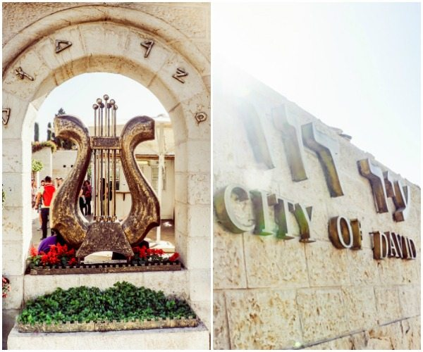 City of David picture collage