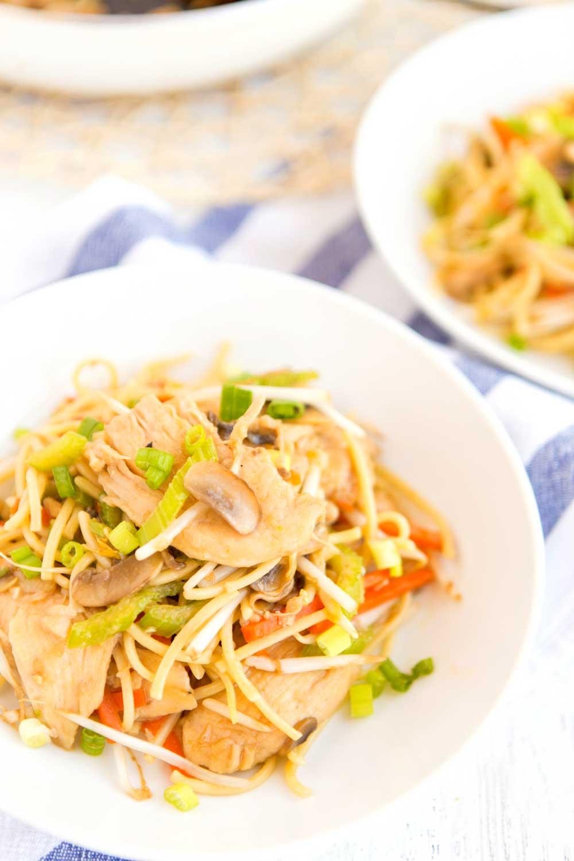 Easy, delicious Chicken Chow Mein recipe.